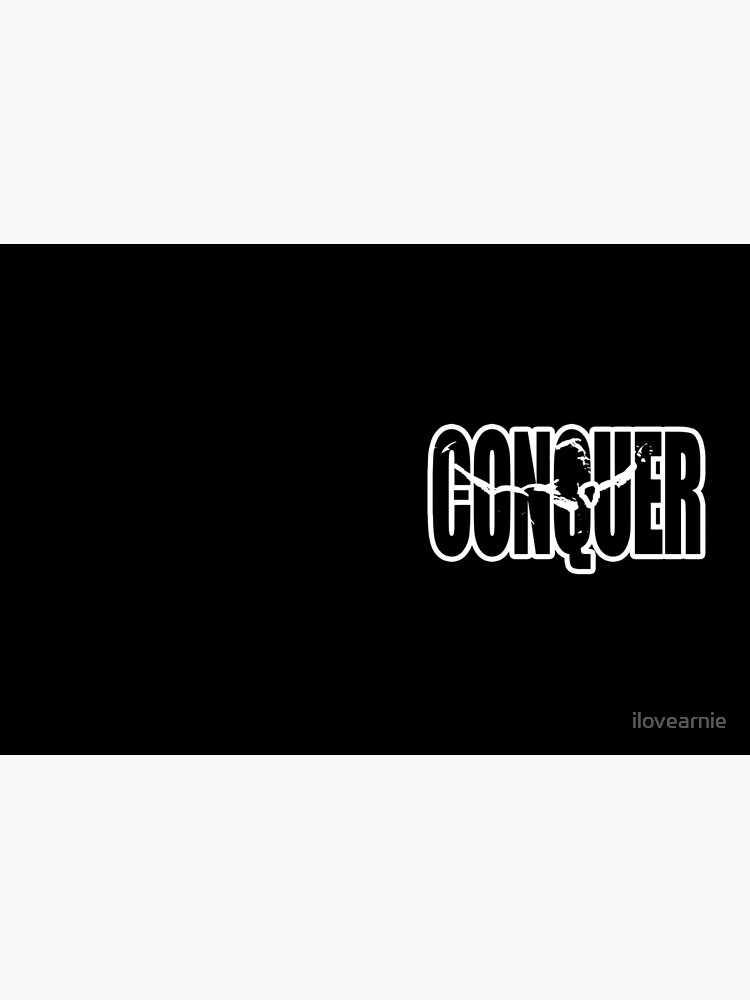 CONQUER (Arnold Iconic Weiß) von ilovearnie