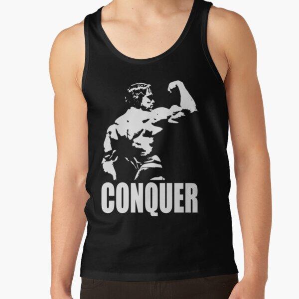 CONQUER (Arnold Back Bicep Flex) Tank Top