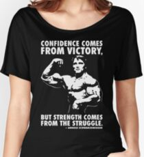 Confidence and Struggle Women's Relaxed Fit T-Shirt