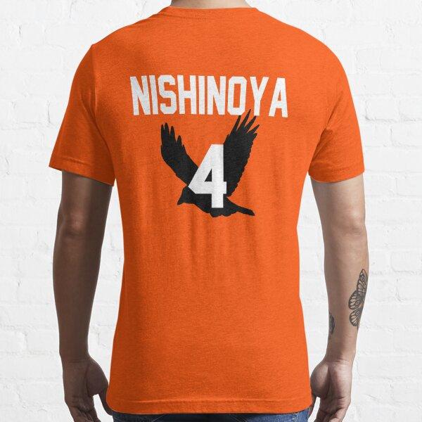 Haikyuu!! Jersey Nishinoya Number 4 (Karasuno) Essential T-Shirt