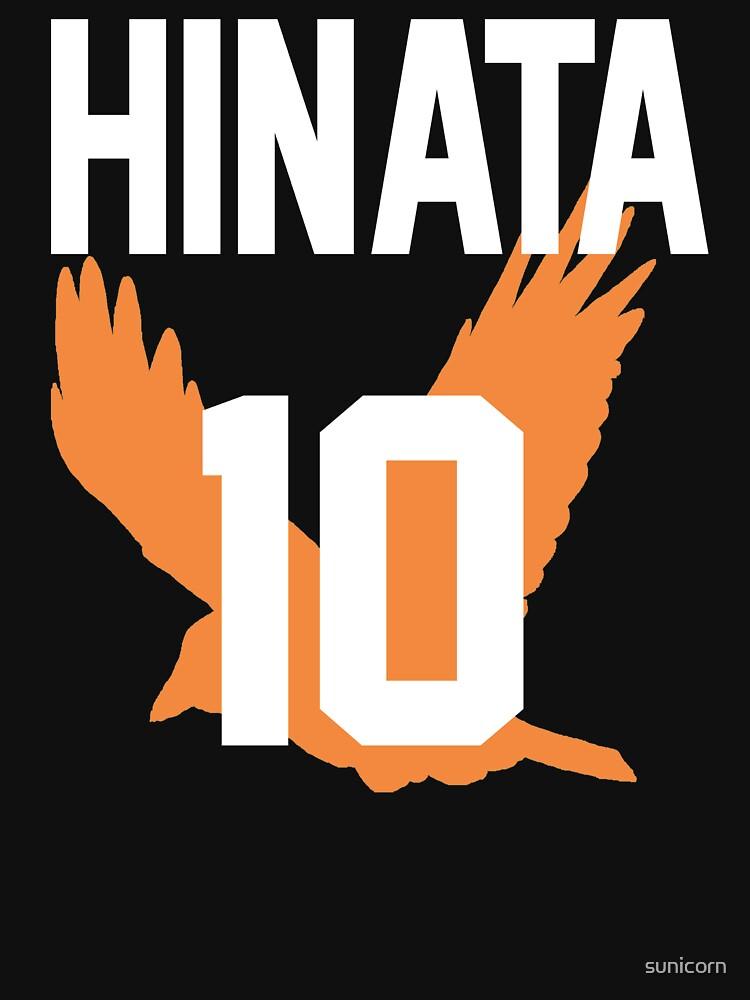 Haikyuu!! Jersey Hinata Number 10 (Karasuno)   Unisex T-Shirt