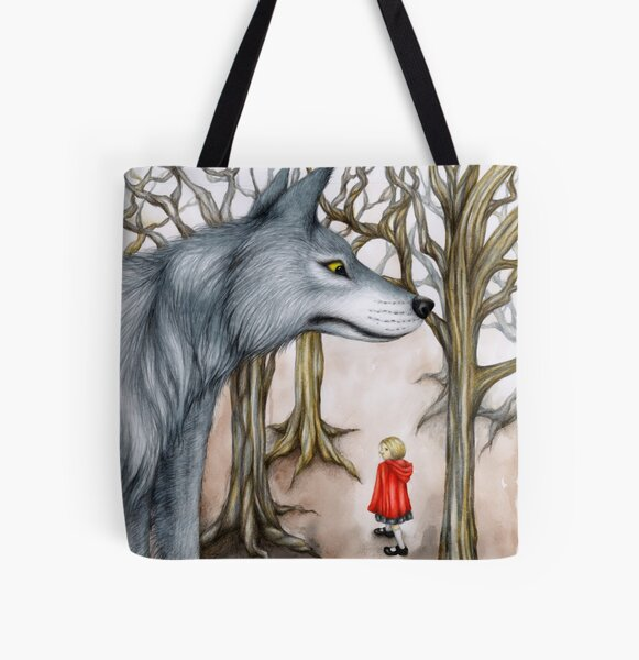 Not Out of the Woods All Over Print Tote Bag