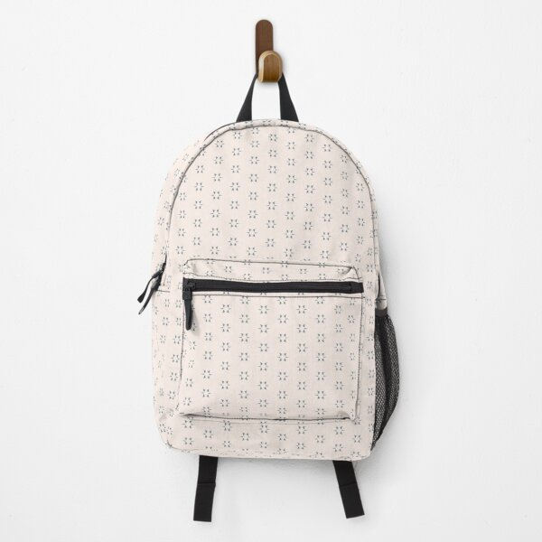 Cottagecore Neutral Grey Star Backpack