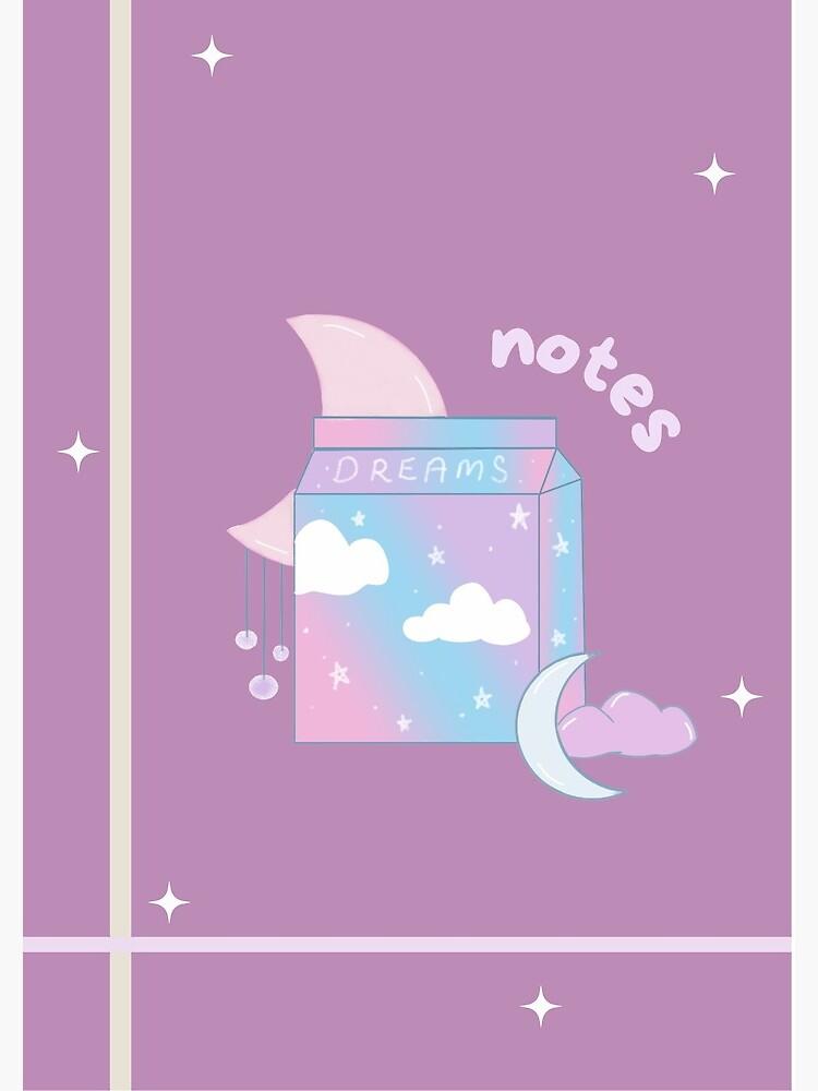 dreams notes by artbylenashop