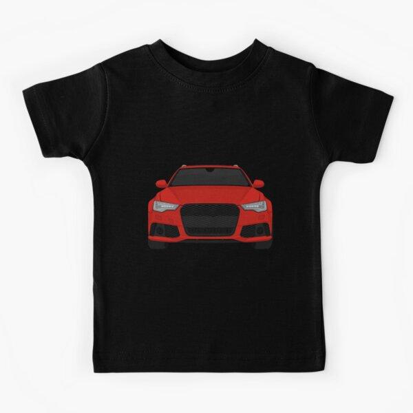 Audi Rs6 rouge T-shirt enfant