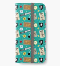 Once Upon A Time | Turquoise iPhone Wallet