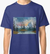 Sweet Mountain Sunrise Classic T-Shirt