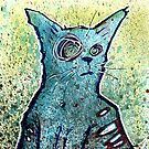 Kuro the zombie cat by byronrempel