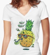 Juicy Juicy Women's Fitted V-Neck T-Shirt