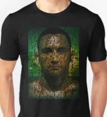 Frankie Edgar, The Answer (Superimposed) Unisex T-Shirt