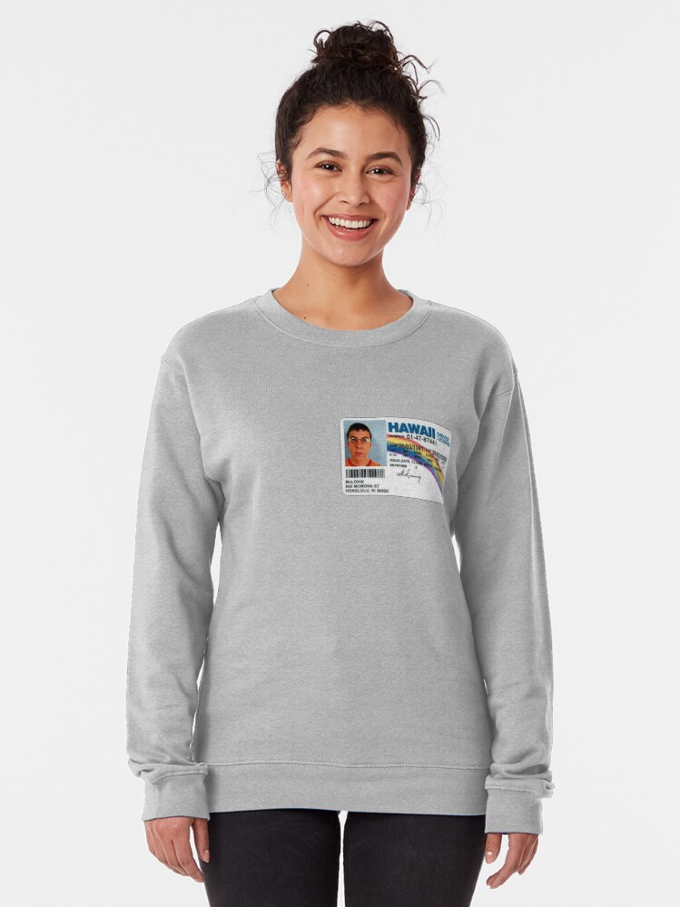 Alternate view of McLovin  Pullover Sweatshirt