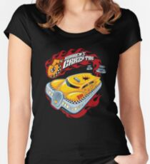 Korben's Crazy Taxi Women's Fitted Scoop T-Shirt