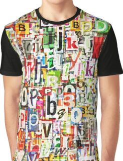 Letters Graphic T-Shirt