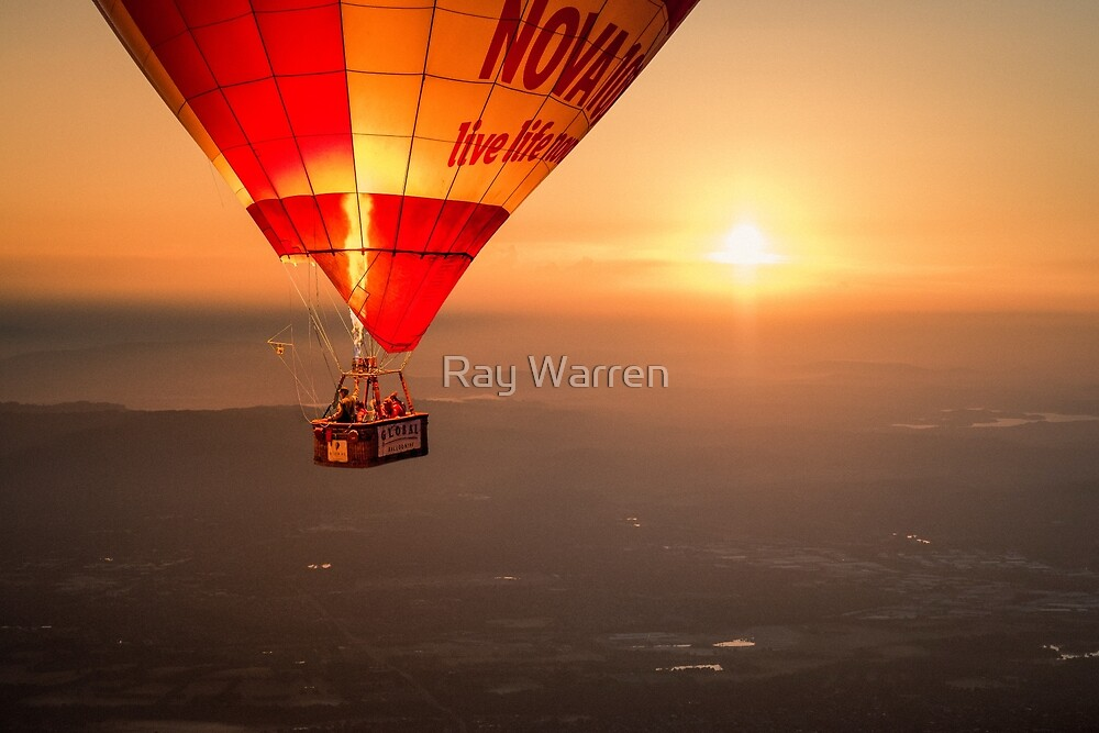 Adrift in the Mist at Sunrise by Ray Warren