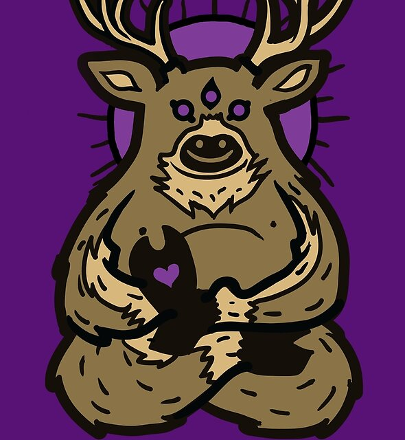 Spirit Deer by Jonah Block
