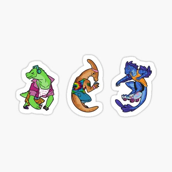 Cute Dinosaur Friends Sticker