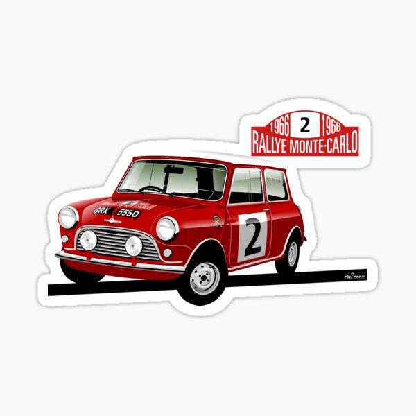 1966 Rallye Monte Carlo Sticker