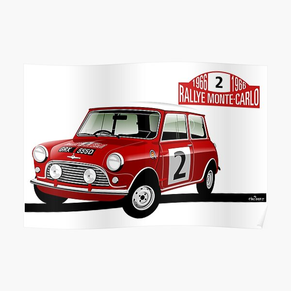 1966 Rallye Monte Carlo Poster