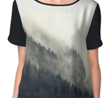Forest Moon Chiffon Top