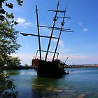 Abandoned Ship by Al Bourassa
