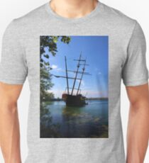 Abandoned Ship Unisex T-Shirt