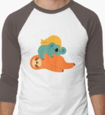 Being Lazy Men's Baseball ¾ T-Shirt