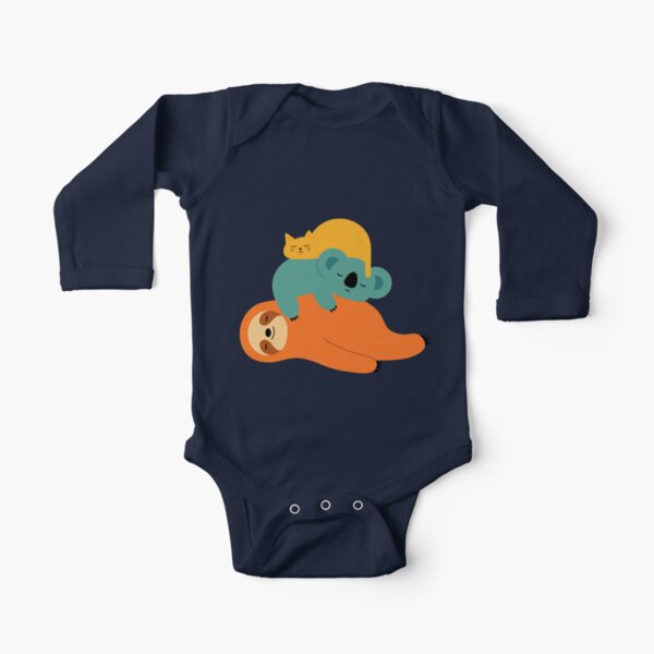 Being Lazy Long Sleeve Baby One-Piece