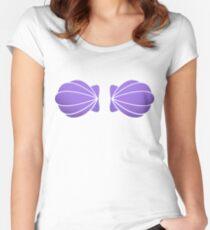 Mermaid seashell Women's Fitted Scoop T-Shirt