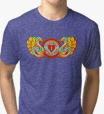 I Love Carters - winged Tri-blend T-Shirt