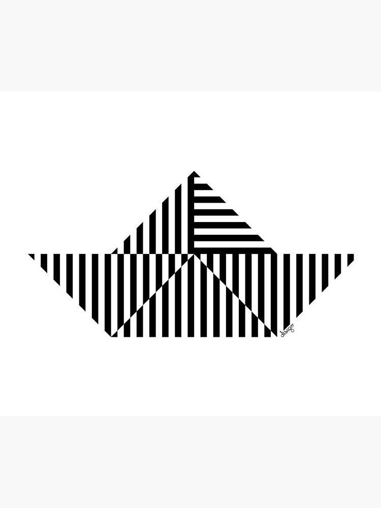 Paper Boat design by disego
