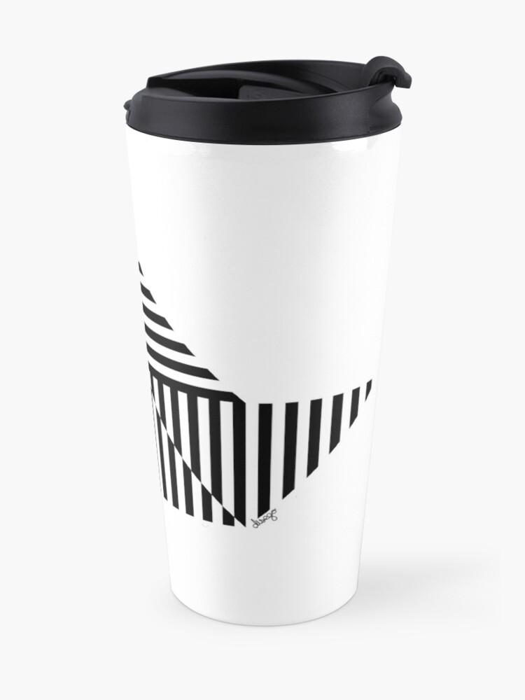Alternate view of Paper Boat design Travel Mug