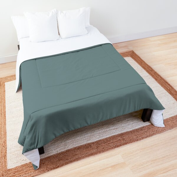 Aegean Teal | 2021 Color of the Year | Solid Color Comforter