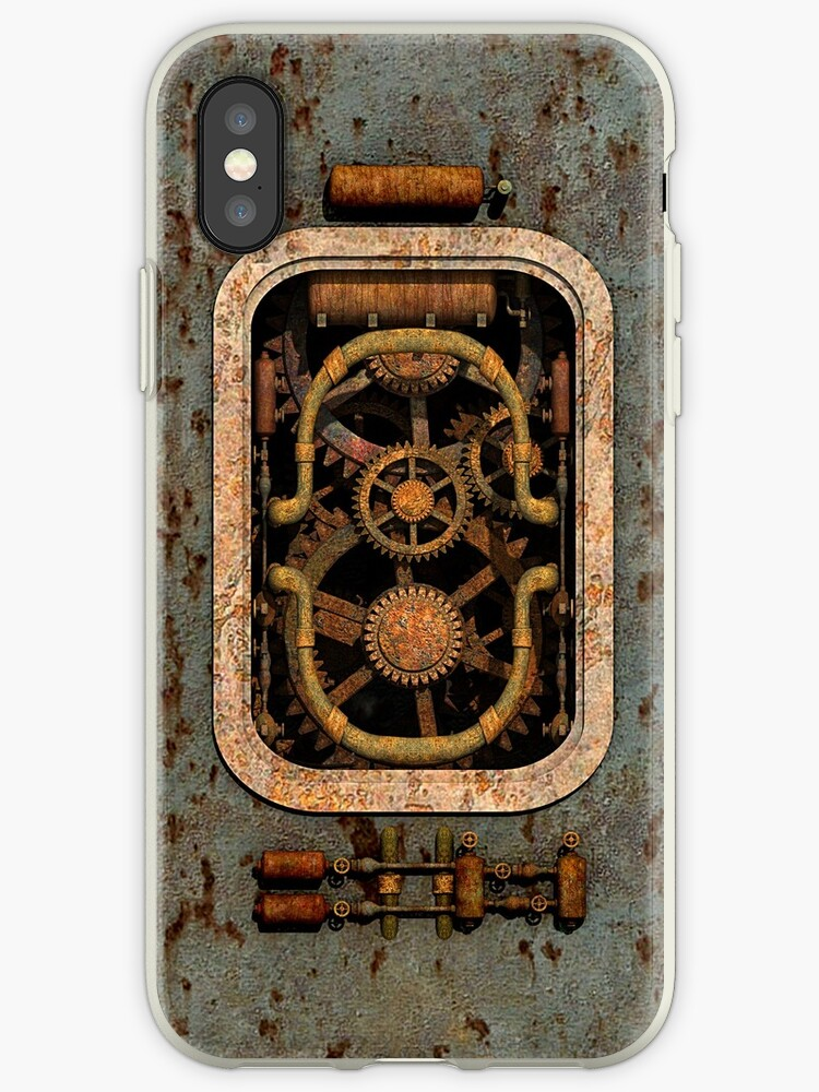 Infernal Steampunk Vintage Machine #1 by Steve Crompton