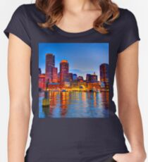 Boston Harbor Women's Fitted Scoop T-Shirt