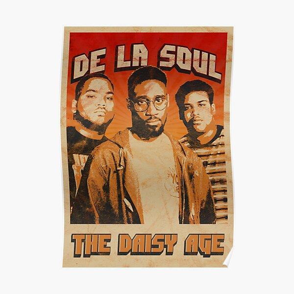 De La Soul Old School Poster