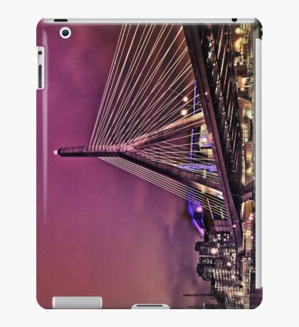 Zakim bridge, Boston MA iPad Case/Skin