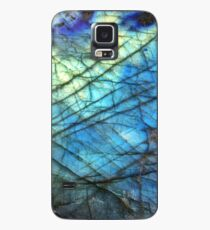 Funda/vinilo para Samsung Galaxy Labradorita azul real