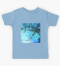 Spring blooms at dusk Kids Clothes