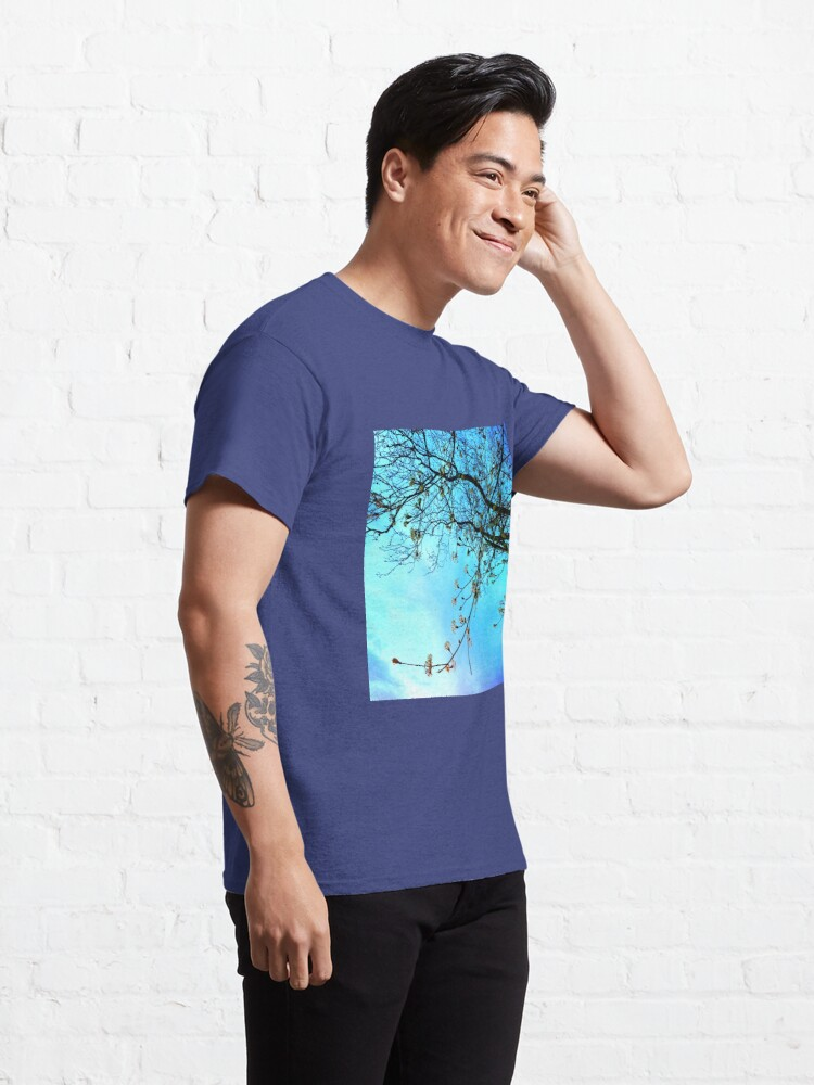 Alternate view of Gift for Nature Lovers - Spring blooms at dusk Classic T-Shirt