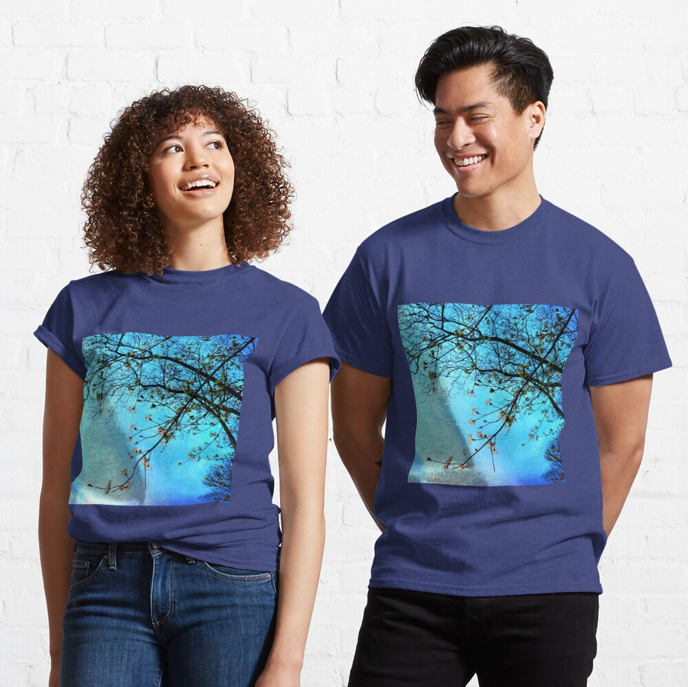 Gift for Nature Lovers - Spring blooms at dusk Classic T-Shirt