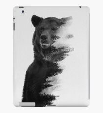 bear graphic nature photography iPad Case/Skin