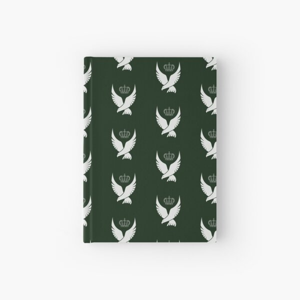 White Falcon and Crown print (Anne Boleyn inspired) Hardcover Journal