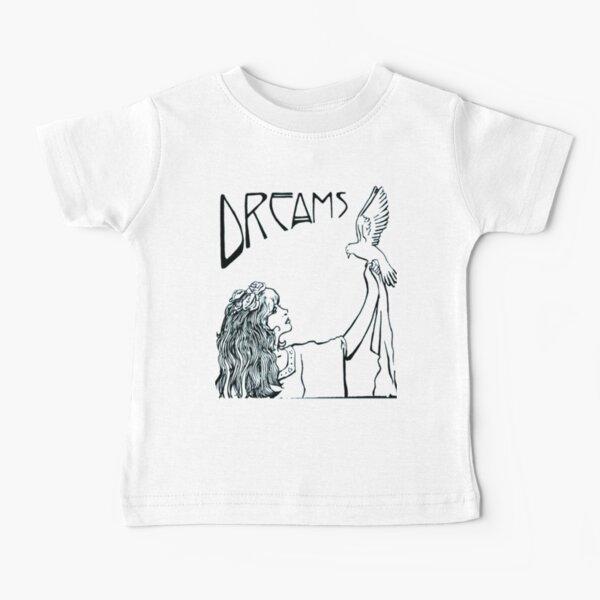 Stevie Nicks Art Nouveau Style Bw Baby T-Shirt