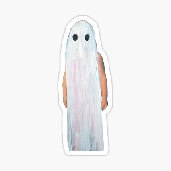 stranger in the alps ghost Sticker
