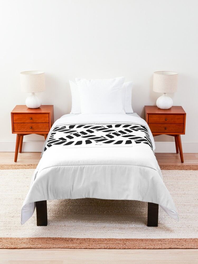 Alternate view of KNOT design Comforter