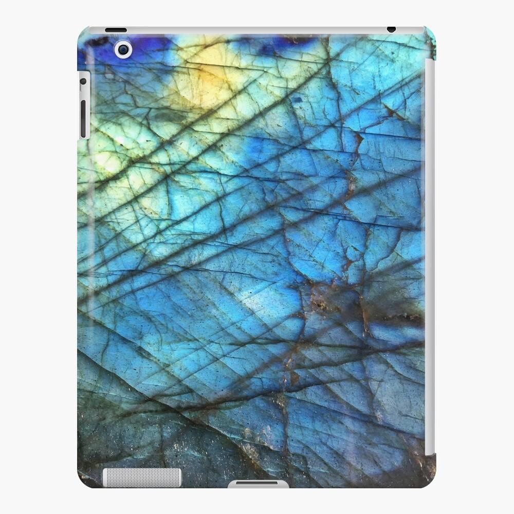 Labradorita azul real Funda y vinilo para iPad