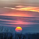 Redreaming Skyscape Sunset in Winter by REDREAMER