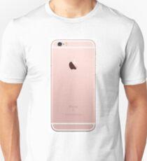iphone 6 rose gold back  Unisex T-Shirt
