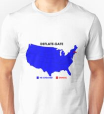 Deflate-Gate Opinion Poll Unisex T-Shirt