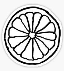 slice of lemon Sticker